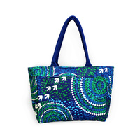 Bag Tote Aboriginal Design - Wet Design - Luther Cora