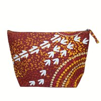 Bag Cosmetic Aboriginal Design - Wet Design - Luther Cora