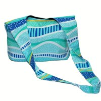 Bag Cross Body Aboriginal Design  -Gudhu Godjara (Rainbow Reef) - Jedess Hudson